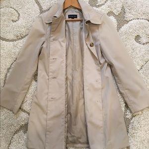 Braetan Jackets & Coats - BRAETAN | Classic Khaki Tan Long Trench Coat